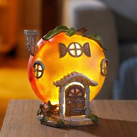 Peach Hut Elevedon Collection Battery Powered Fairy House Light