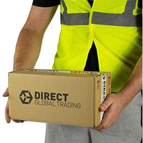20 Small Strong Cardboard Boxes Double Walled Royal Mail Small Parcel 13.8'' x 7'' x 6.4''