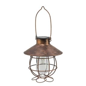 Solar Marine Copper Lantern Light