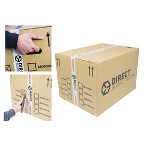 10 Strong Extra Large Cardboard Boxes Ideal for Storage and House Moving Double Walled 60cm x 45cm x 40cm