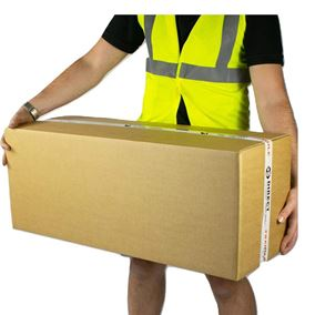 15 Strong Large Long Strong Cardboard Storage Packing Moving House Boxes Double Walled 35.4'' x 13.6'' x 12.6''