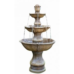 Large Four Tier Classic Water Feature