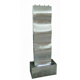 Naples Stainless Steel Water Feature
