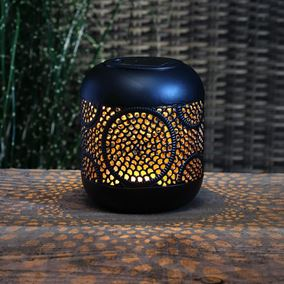 Global Metallic Solar Lantern
