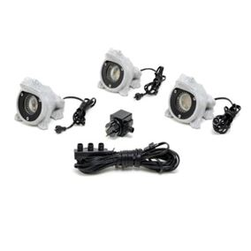 Amalfi LED Garden Frog Lights 7660 (Triple Pack)