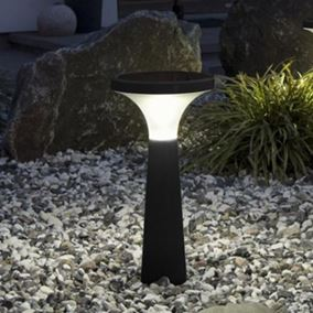 Assisi Aton 450 LED Solar Garden Light (Black)