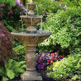 Three Tier Harvest Fountain