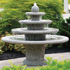 Gozo Four Tier Sphere Fountain