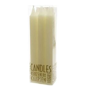 20cm Ivory Dinner Candles Halloween Decoration (6 Pack)