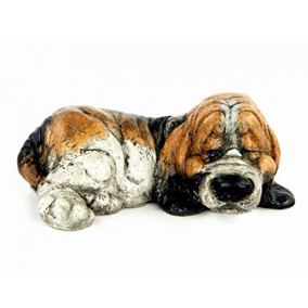 Sleeping Hound Dog Decorative Ornament