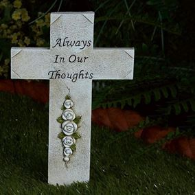 Always In Our Thoughts Garden Memorial