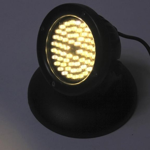 additional image for 60 Warm White LED Underwater Pond Light with Light Sensor