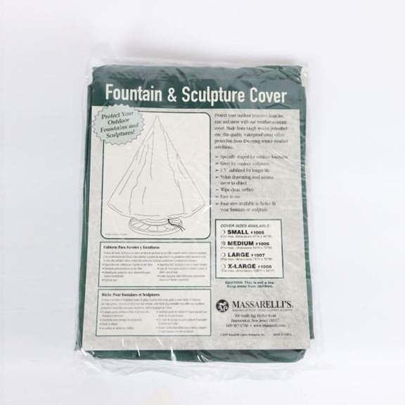 additional image for Medium Massarelli Fountain Protection Cover