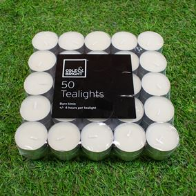 Pack of 50 Tealights Candles