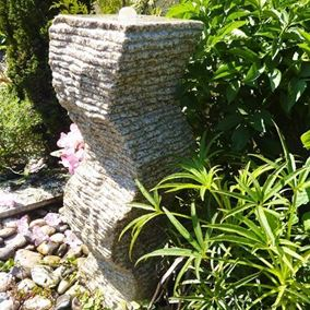 Cascading Wave Granite Water Feature