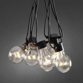 10 Traditional Clear Festoon Outdoor Party Lights (Add On Set)