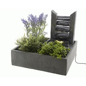 Cascading Slate Wall Indoor Tabletop Water Feature