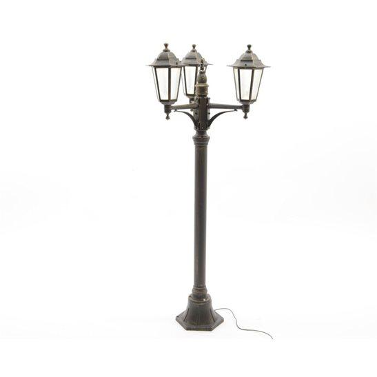 12v led brown garden lamp post low voltage lighting system mozeypictures Gallery