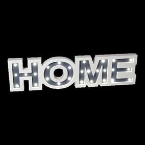 Wooden LED Lit Home Sign (60cm)