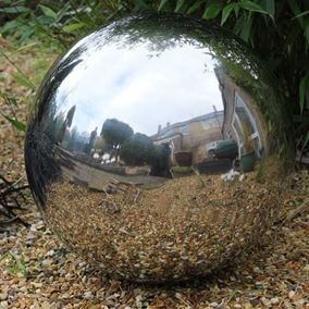 80cm Stainless Steel Sphere Ornament
