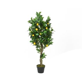 1.2m Artificial Lemon Tree In Pot
