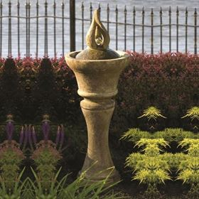 Fountainette - Garden Glow Cast Stone Water Feature