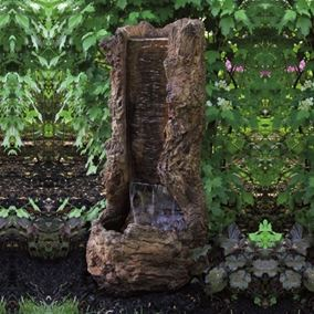 Large Treefall Fountain Cast Stone Water Feature