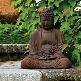 Buddha Cast Stone Garden Ornament