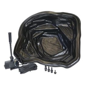 Starter Garden Pond Kit with Fountain Pump