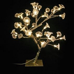 36 LED Gold Pepper Tree (Warm White)