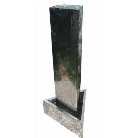 Hamilton Stainless Steel Water Feature with LEDs