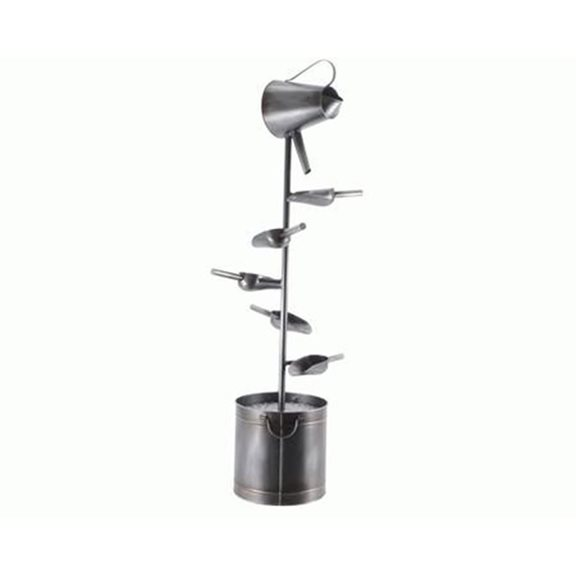 Iron Scoop Fountain Outdoor Water Feature