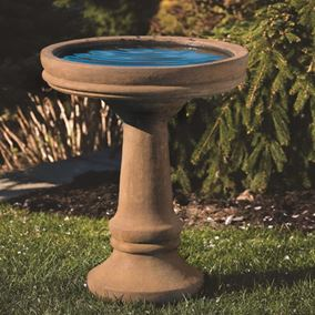Plain And Simple Bird Bath
