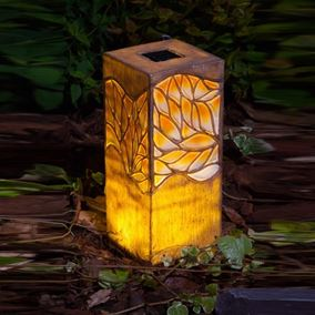 Woodland Trees Solar Powered Border Light
