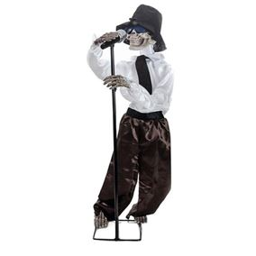 1m Singing Halloween Skeleton Sound Sensored Display