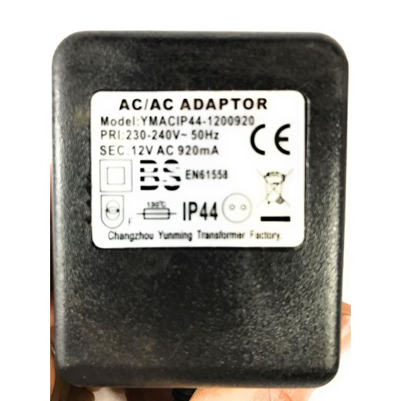 additional image for 12V 920mA Replacement Indoor Water Feature and Garden Lights Transformer
