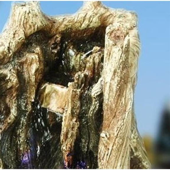 additional image for Driftwood Indoor Water Feature with LED