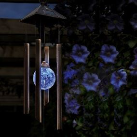 Solar Colour Changing Windchime Light