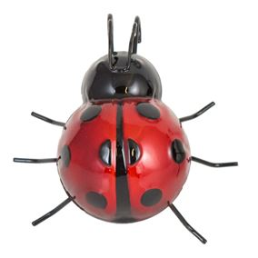 Set of 2 Ladybird Pot Hangers