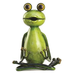 The Lotus Sitting Yoga Frog (Large)