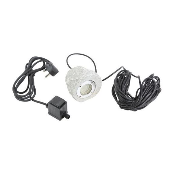 additional image for 36 Bulb White LED Granite Submersible Rock Pond Light