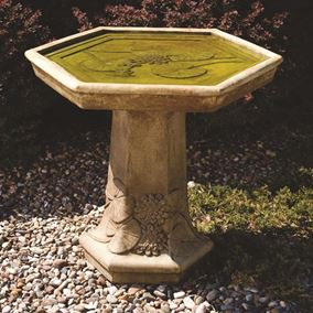 Lily Pad Bird Bath