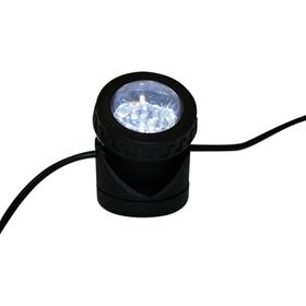 12 LED White Extendable Adjustable Spotlight