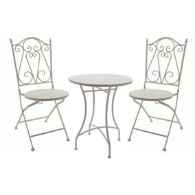 Milan Bistro Table and Chair Patio Set