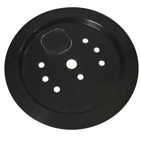 66cm Heavy Duty Plastic Cover Lid for Round Pebble Pool