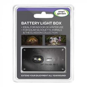2 Pack Battery Light Box for Smart Garden Silhouette Animals and The Elvedon Collection