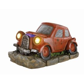 Classic Car Water Feature with Lights & Mister Garden Fountain