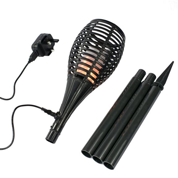 additional image for 160 Lumen Fire Lamp Torch with Spike Real Flame Effect Fully Rechargeable