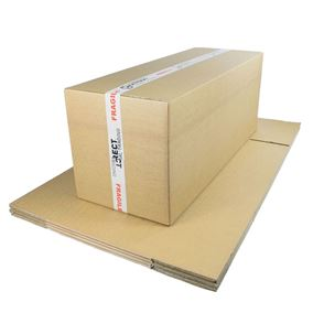 10 Strong Extra Large Cardboard Boxes Ideal for Storage and House Moving Double Walled 88.5cm x 34cm x 31.5cm