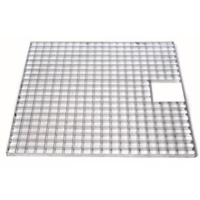 Square Galvanised Steel Water Feature Grid (140cm x 140cm)